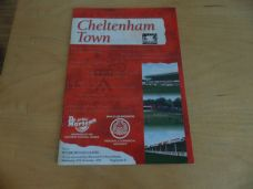 Cheltenham Town v Peterborough United, 1996/97 [FA]